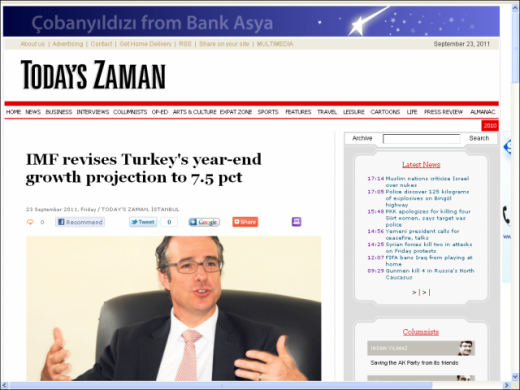 Todays-Zaman-IMF-And-Turkey