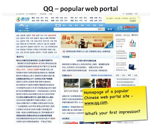 QQ - Chinese Web Design