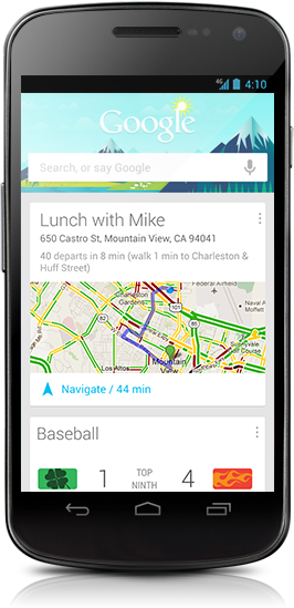 Google Now App: Automated Search Personalisation