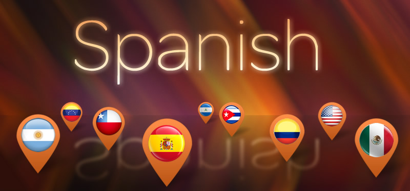 localising different varieties of Spanish