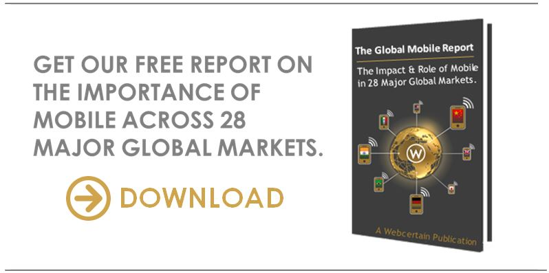 The Webcertain Global Mobile Report