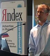 Preston Carey of Yandex at International Search Summit