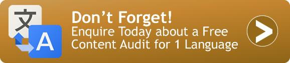 Enquire for Free 1 Language Audit