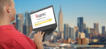 Russians use Yandex abroad