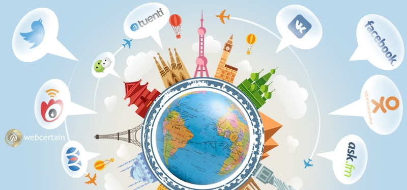 Social Media and Social Networks Around The World