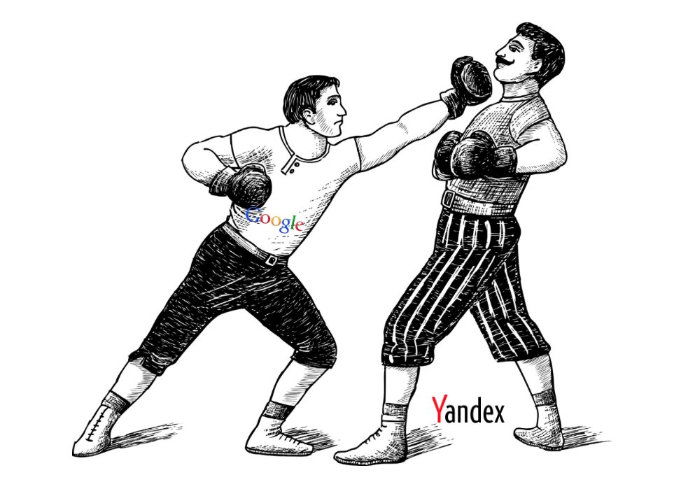Google vs Yandex Russia
