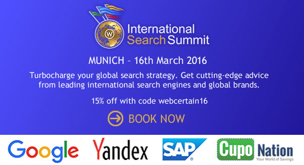 Book International Search Summit Munich