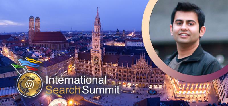 International Search Summit Munich Rahul Gupta