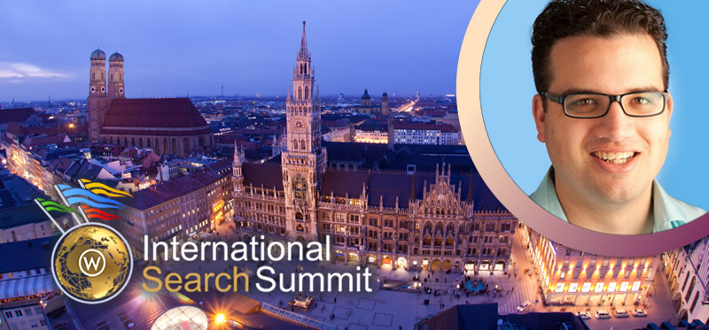 Joost de Valk at International Search Summit Munich