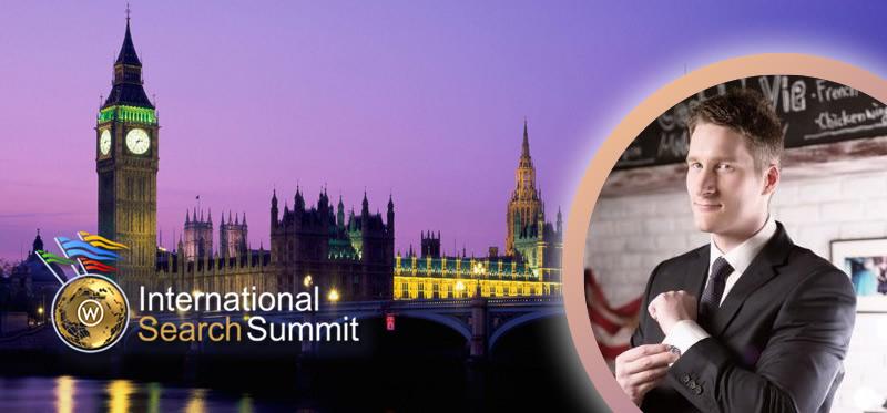 James Murray Bing at International Search Summit