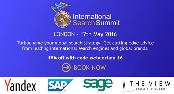 Book International Search Summit London