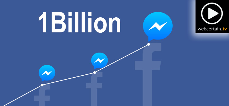 facebook messenger one billion users 25072016